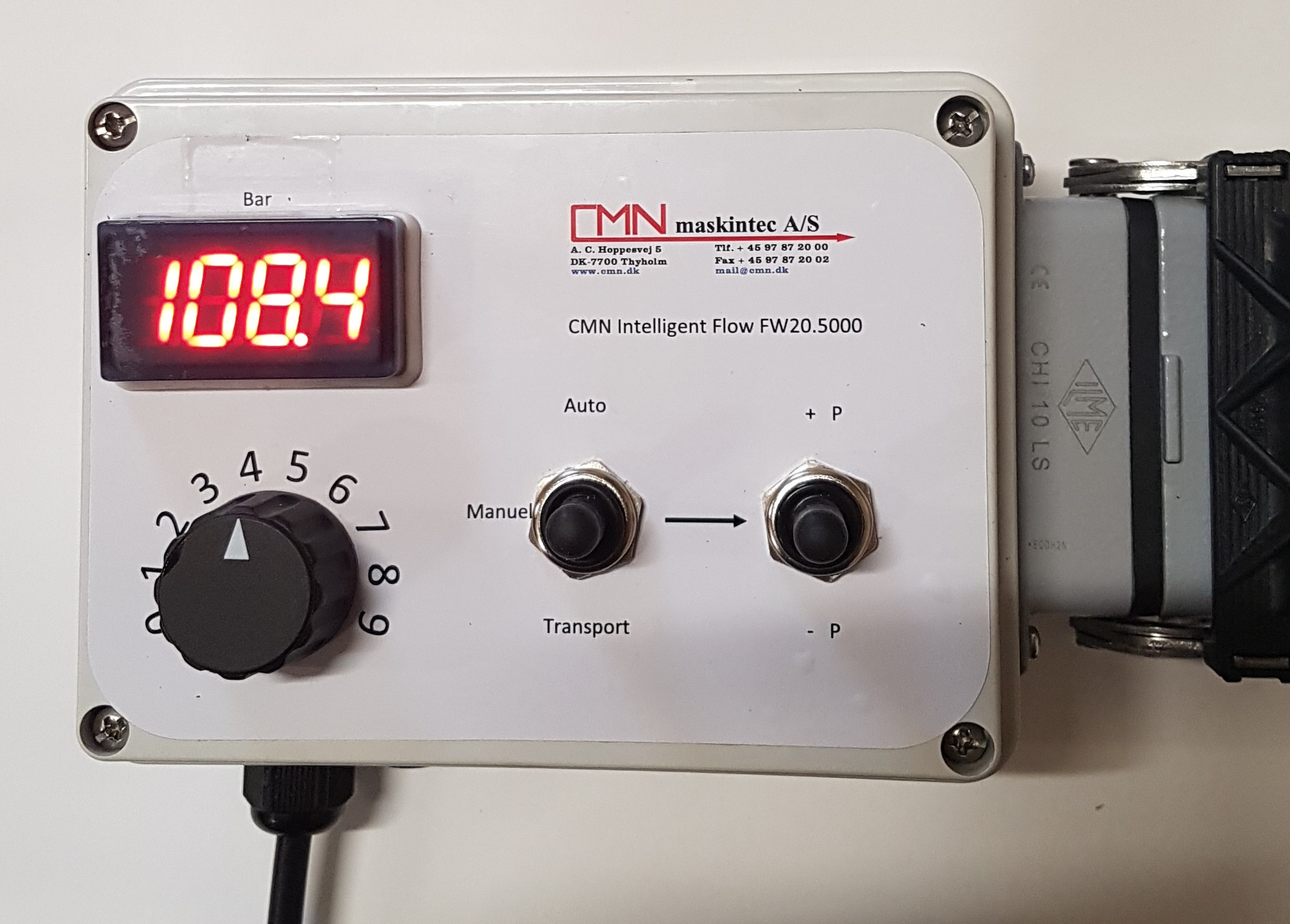 Intelligent flow monitor